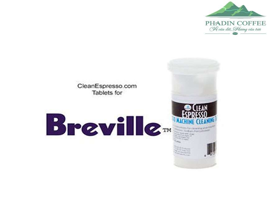 breville espresso cleaning tablets instructions